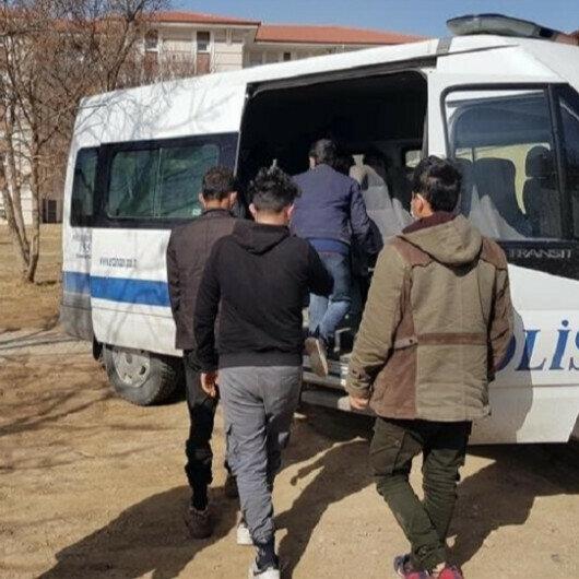 Over 200 irregular migrants held across Turkey