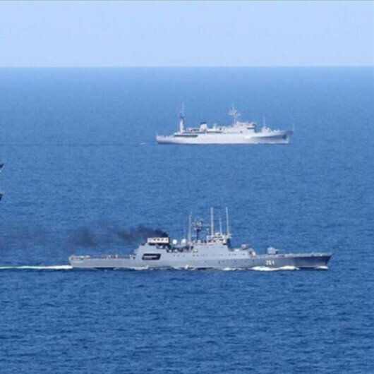Russia, China launch joint naval drill in Sea of Japan