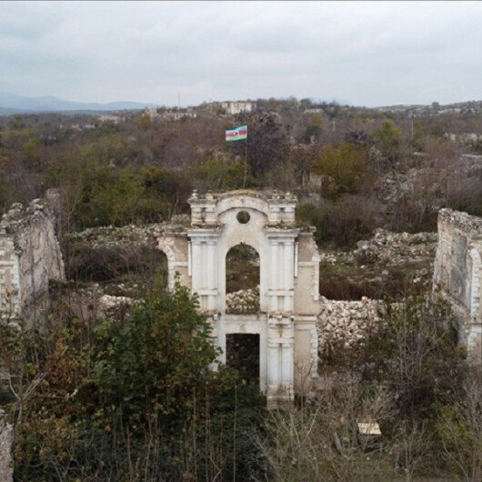 Azerbaijani minister tells of Armenian damage on cultural, historical assets