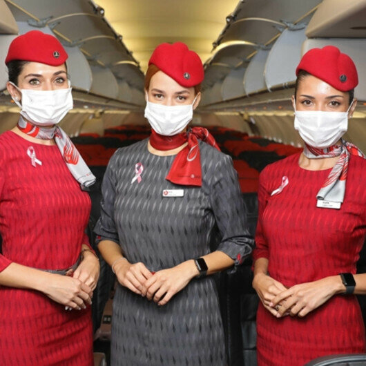 Turkish Airlines raises breast cancer awareness on flights