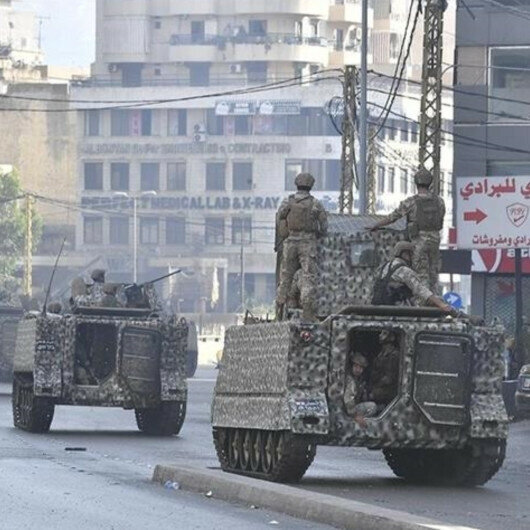 Lebanon's army will not let anyone threaten public safety, says government