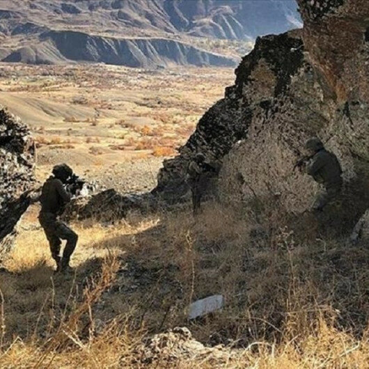 Turkey neutralizes two PKK/YPG terrorists in northern Syria