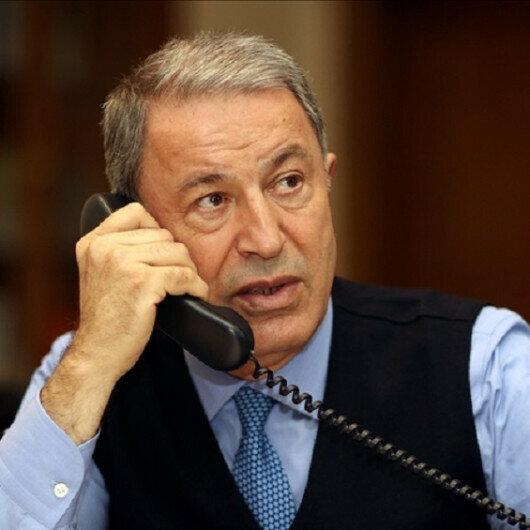 Turkish, US defense chiefs discuss regional security over phone