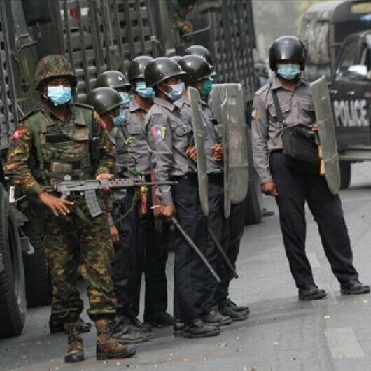 UN 'alarmed' over deployment of heavy weapons by Myanmar army