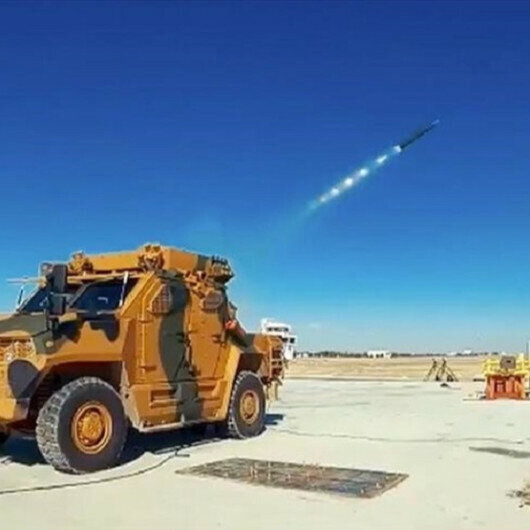 New rocket system ready for use by Turkish army