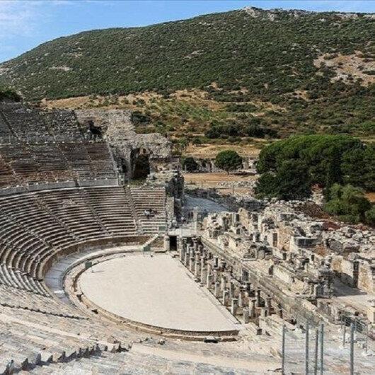Turkey's ancient Ephesus Theater reopens following 3-year break