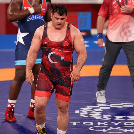 Turkish wrestler wins Olympic bronze in 130 kg Greco-Roman