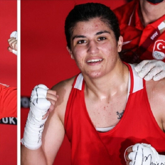 Two Turkish boxers to fight for gold medal at Tokyo Olympics