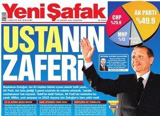 2002'den 2011'e seçim sonrası gazete manşetleri