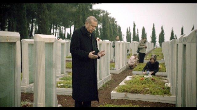 İşte Erdoğanın şiir okuduğu Çanakkale filmi