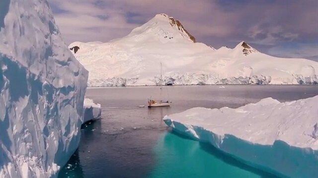 Antarktikanın doyumsuz güzelliği!