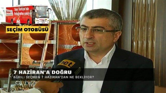 TVNET ve Yeni Şafak seçim otobüsünün konuğu Yılmaz Ensarioğlu