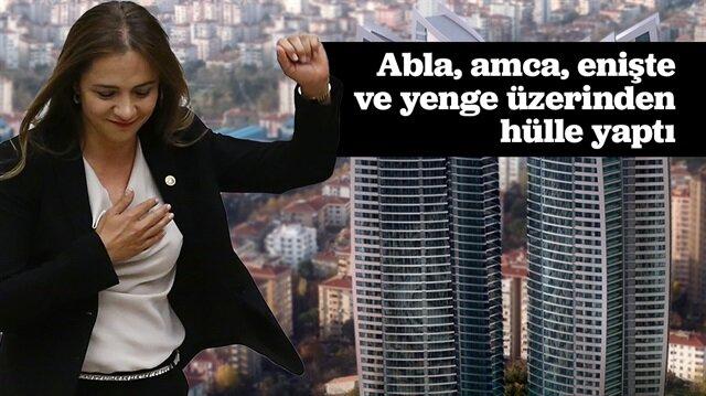 CHP'li Gamze İlgezdi'nin 12 rezidansı daha olduğu ortaya çıktı