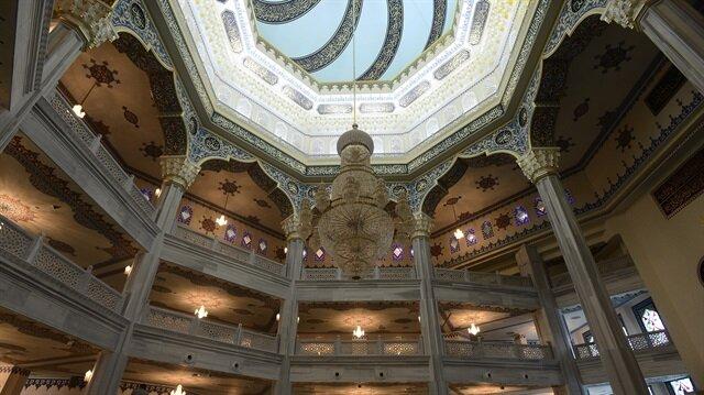 Moskova Merkez Camisi 7 yılda tamamlandı