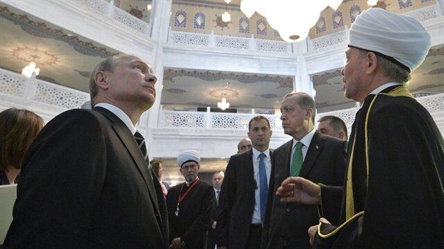Moskova Merkez Camisi'nin içinden ilk görüntüler