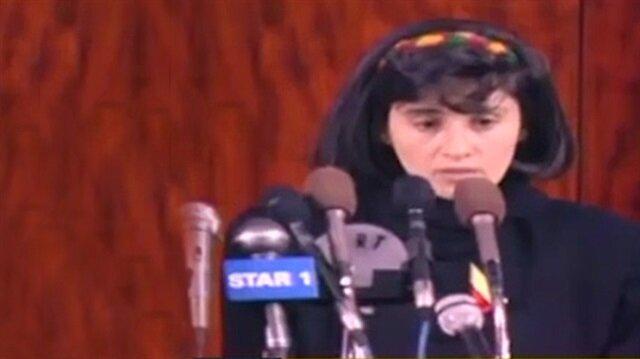 Leyla Zana 1991de de yemin edememişti