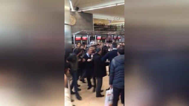 Atatürk Havalimanında yolcular çalışanlara saldırdı