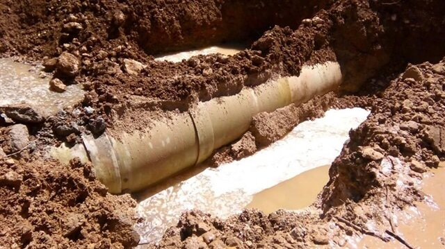 PKK'nın bombaladığı içme suyu hattı onarıldı