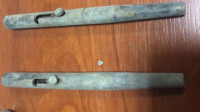 50 kalem görünümlü suikast silahı ele geçirildi