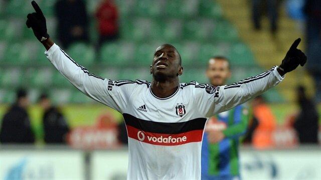 Demba Ba'dan Beşiktaş'a tebrik mesajı