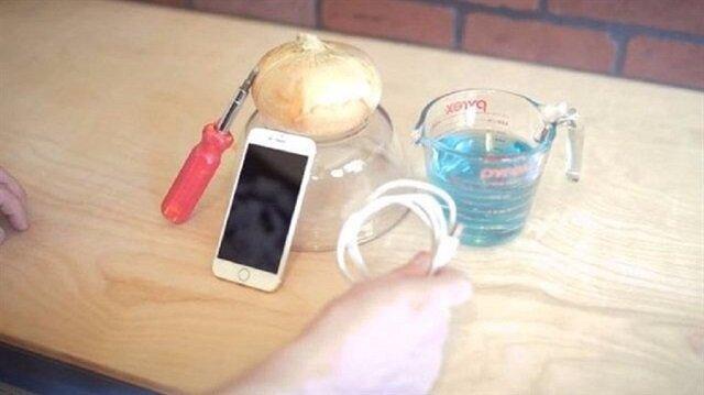 Akıllı telefona ilginç şarj yöntemi