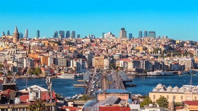 İstanbula bir de buradan bakın!