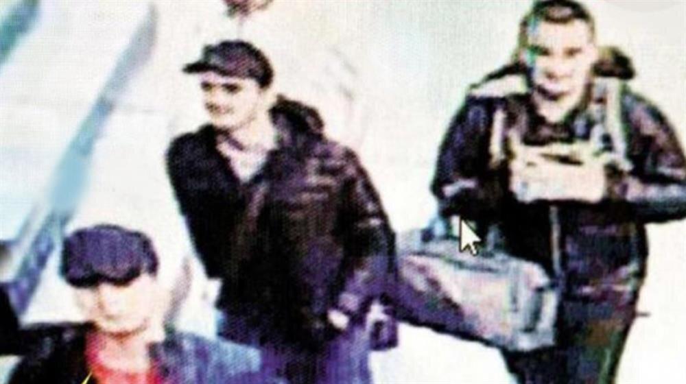 Atatürk Havalimanı'nı kana bulayan teröristlerin yeni görüntüsü ortaya çıktı.