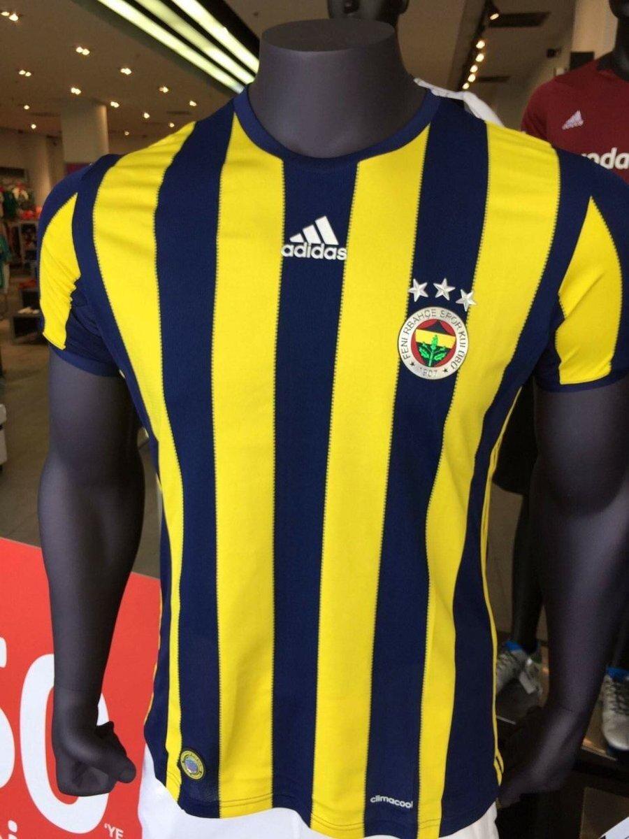 Fenerbahçe'nin iç saha maçlarını oynayacağı forma.