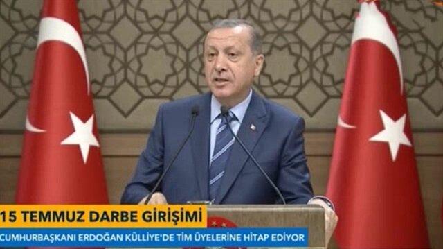 Erdoğandan FETÖcüleri ihbar etme çağrısı