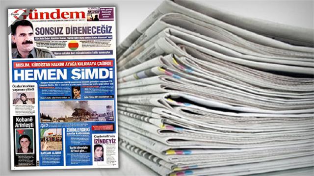 PKK propagandası yapan Özgür Gündem gazetesi kapatıldı