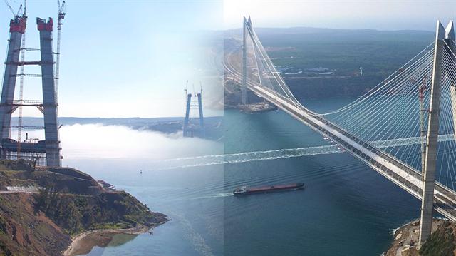 Üçüncü Köprü artık muhteşem bir eserden ibaret