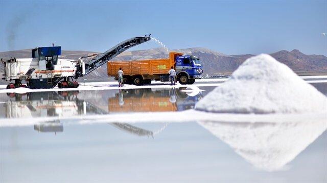 Türkiye'den ABD ve İsrail'e tuz ihracatı