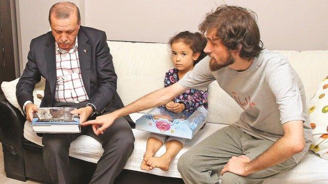 Cumhurbaşkanı Erdoğan Cambaz'ın evinde