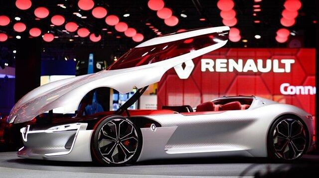 Paris otomobil fuarında çağ üstü bir araç: Renault Trezor