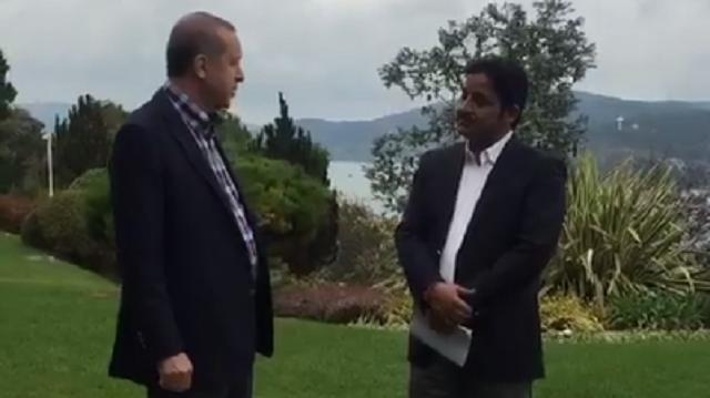 Cumhurbaşkanı Erdoğan futbolculuk geçmişini anlattı