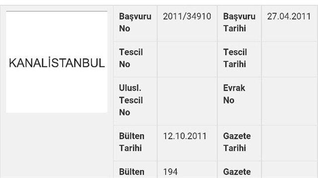 Kanal İstanbul'un patenti FETÖ'cüde