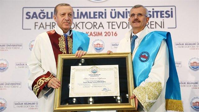 Cumhurbaşkanı Erdoğan'dan Cevdet Erdöl'e büyük övgü