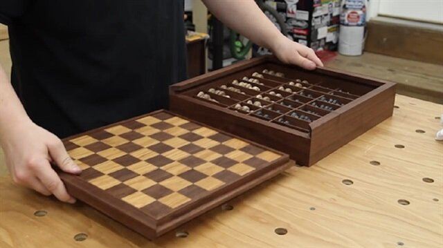 Satranç tahtası nasıl yapılır?