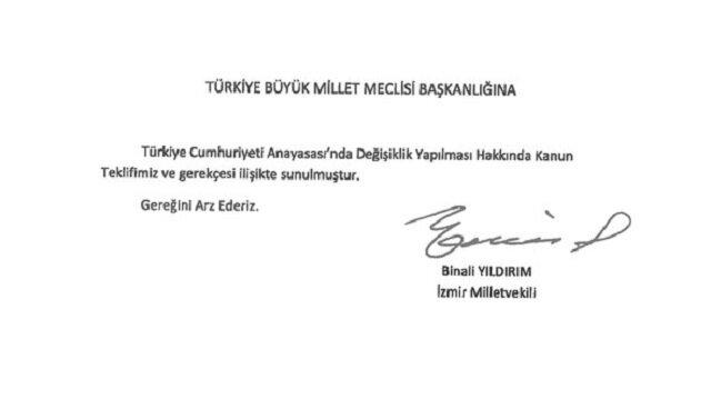 İşte 21 maddelik anayasa değişikliği teklifi