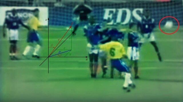 Sır çözüldü: Roberto Carlos'un imkansız golünün bilimsel açıklaması