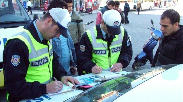 Bunu da gördük: Türkiye'nin en ilginç trafik cezası kesildi