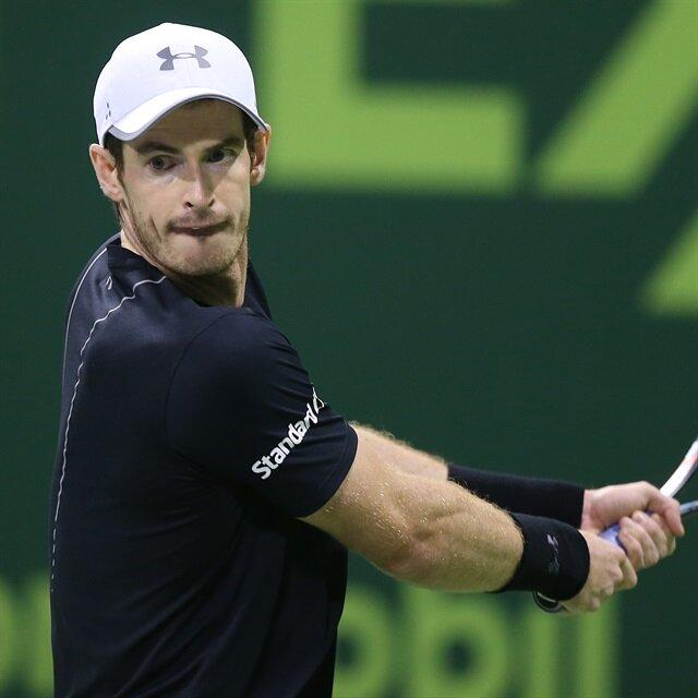 تنس: تأهل موراي لنصف نهائي بطولة إكسون موبيل المفتوحة