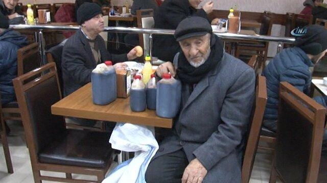 82 yaşındaki pekmezci dedenin hayat mücadelesi