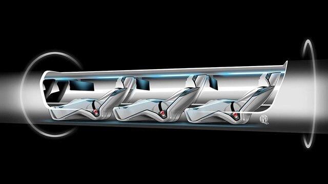 Hyperloop trenler, 1200 km hız yapıp uçaklarla yarışacak