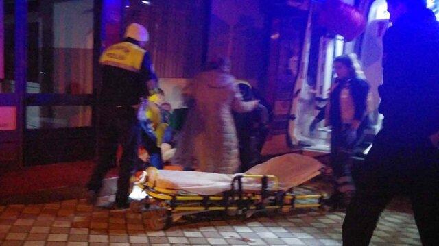 Ereğli'de bıçaklı kavga: 2 yaralı! Zonguldak haberleri