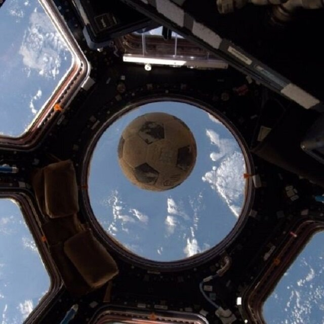 Soccer ball completes its mission in space after 30 years