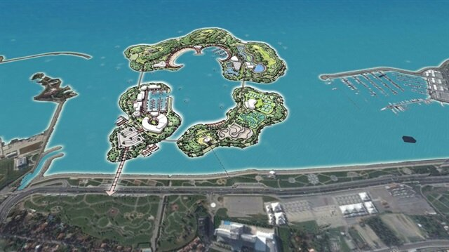 İstanbul'a 3 yeni 'ada' geliyor
