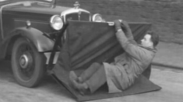 Otomobillerde kullanılan ilk yaya koruma sistemi