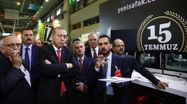 Erdoğan 15 Temmuz Dijital Kütüphanesini inceledi