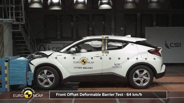 Toyota CH-R ve Citroen C3'ün Euro NCAP test sonuçları açıklandı